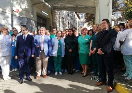 Clinica Marelui Ars s-a inaugurat după 8 ani de la începerea lucrărilor