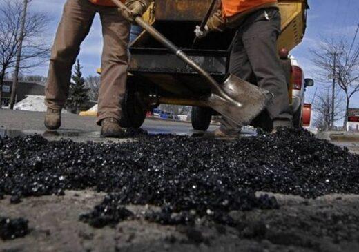 Drumuri stricate de ploi în 2018, reparate în 2021. Se așteaptă ofertele firmelor