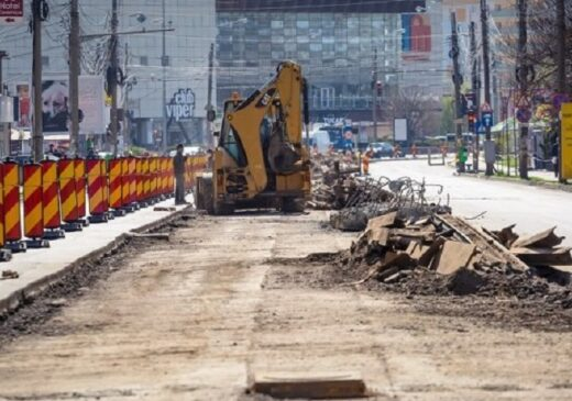 Restricții și devieri de circulație rutieră în zona Tudor Vladimirescu