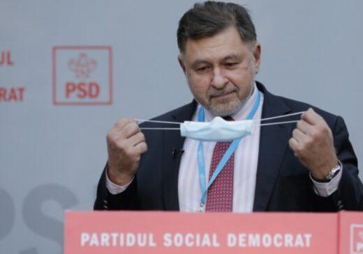 Rafila afirmă că este posibil ca în România să se depăşească 25.000 de cazuri noi de COVID-19 pe zi până în decembrie
