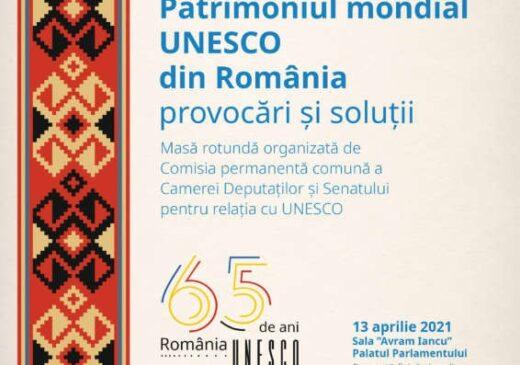Eveniment dedicat împlinirii a 65 de ani de prezenţă a României în UNESCO