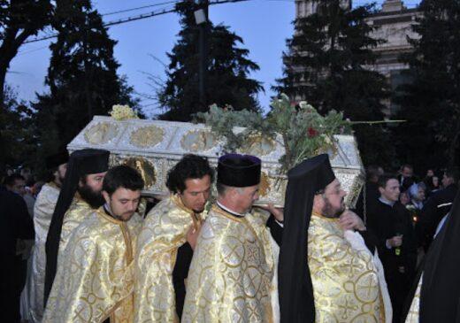 Racla cu moaştele Sfintei Cuvioasei Parascheva va fi scoasă vineri